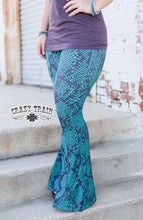 Load image into Gallery viewer, Snake Print Bell Pants - Sister Tribe Boutique