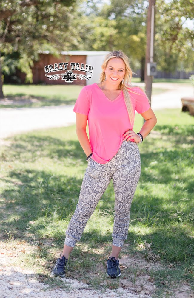 Snake Walk Joggers - Sister Tribe Boutique