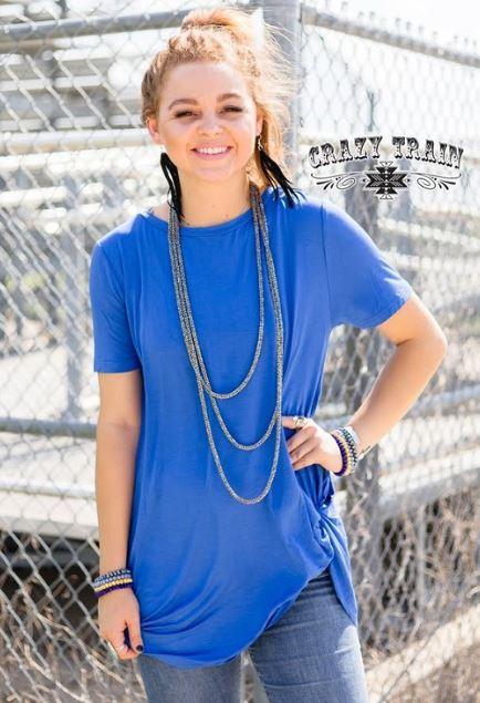 Let's Get Knotty * Blue - Sister Tribe Boutique