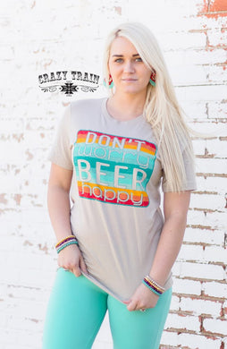 Beer Happy Tee - Sister Tribe Boutique