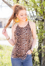 Load image into Gallery viewer, Honeywine Leopard Tank - Sister Tribe Boutique