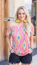 Load image into Gallery viewer, Whoa There Wild Tilt Top - Sister Tribe Boutique