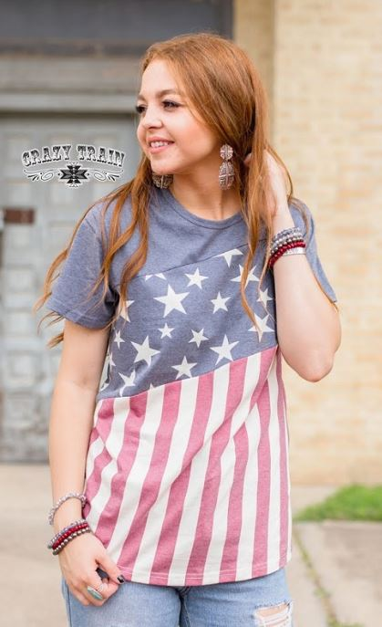 Betsy Ross Top - Sister Tribe Boutique