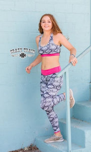 Pink Python Leggings - Sister Tribe Boutique