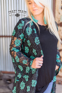 Laynee Lace Duster - Sister Tribe Boutique