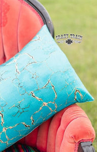 Turquoise Stone Pillow Case - Sister Tribe Boutique