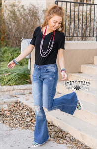 First Pick Flare jeans - Sister Tribe Boutique