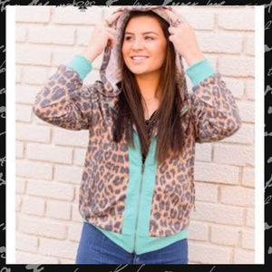 Zip Zap Hooded Jacket - Sister Tribe Boutique