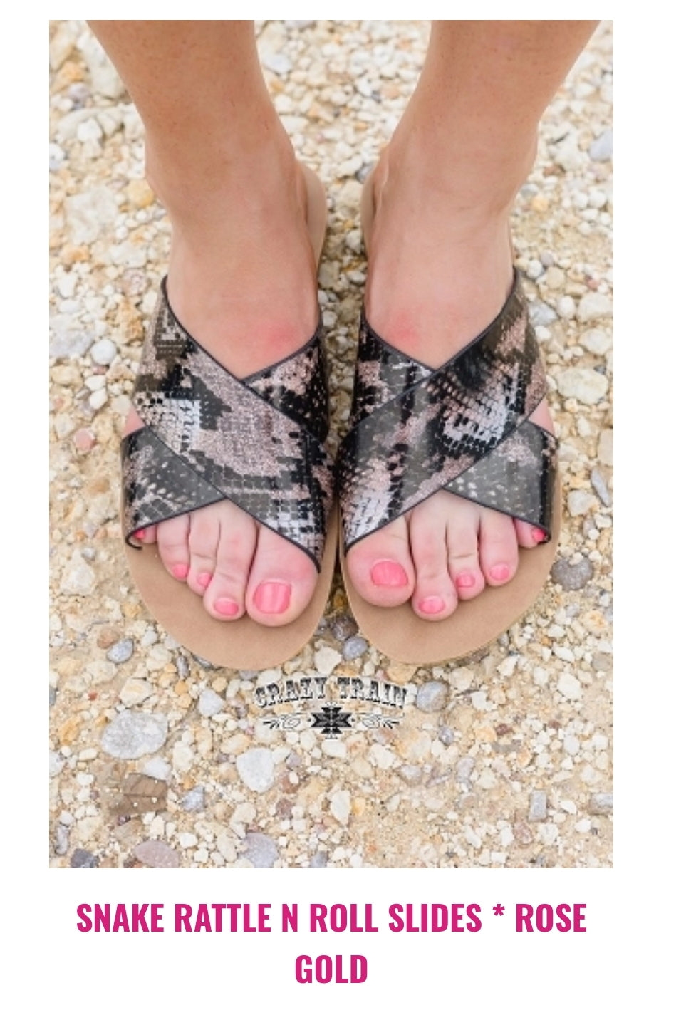 Snake,  Rattle, & Roll Slides - Sister Tribe Boutique