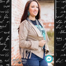 Load image into Gallery viewer, Canyon Road Fringe Jacket - Sister Tribe Boutique