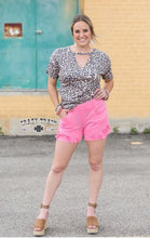 Load image into Gallery viewer, Pink Paradise Fringe Shorts - Sister Tribe Boutique