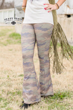 Load image into Gallery viewer, Camo Bell Pants - Sister Tribe Boutique