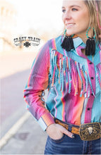 Load image into Gallery viewer, Rodeo Rig Serape Button Up - Sister Tribe Boutique