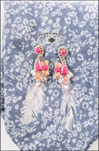 Pink Paradise Earrings - Sister Tribe Boutique