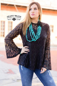 Hartlii Lace Top - Sister Tribe Boutique