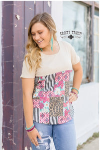 Three Knees Top - Sister Tribe Boutique