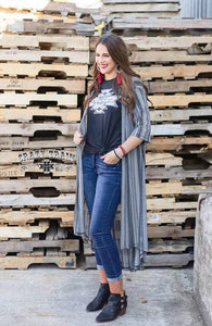 Walk the Line Duster - Sister Tribe Boutique