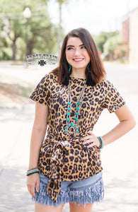 Leo Bravo Bow Tie Top - Sister Tribe Boutique