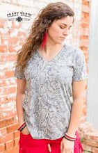 Load image into Gallery viewer, Santo Snake Vneck - Sister Tribe Boutique