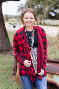 Perfect Plaid Cardigan - Sister Tribe Boutique