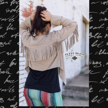 Load image into Gallery viewer, Fringe Jacket - Sister Tribe Boutique