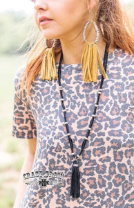 Leopard Laid Back Dress - Sister Tribe Boutique