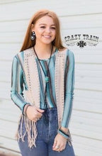 Load image into Gallery viewer, Sleeves of Serape - Sister Tribe Boutique