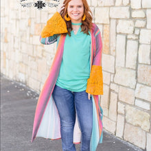 Load image into Gallery viewer, Serape Bell Duster - Sister Tribe Boutique