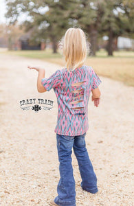 Slash Mob Aztec Tee - Sister Tribe Boutique