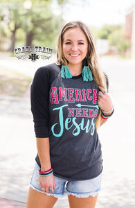 America Needs Jesus * BBALL - Sister Tribe Boutique