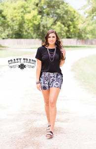 Jackpot Shorts - Sister Tribe Boutique