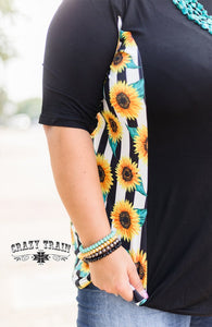 Sunflower Side Swipe - Sister Tribe Boutique
