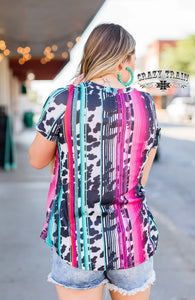 Ranchy Chica Top - Sister Tribe Boutique