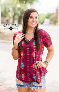 Rio Reversible Tee - Sister Tribe Boutique