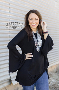 Knot for Long**Black - Sister Tribe Boutique
