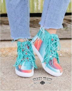 Walk the Line High Tops - Sister Tribe Boutique