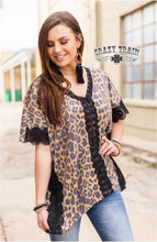 Load image into Gallery viewer, Leopard Shelby Top - Sister Tribe Boutique