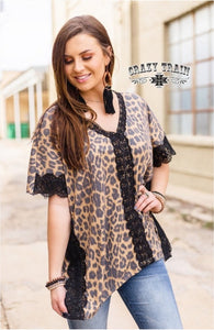 Leopard Shelby Top - Sister Tribe Boutique