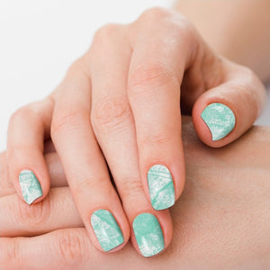 Desert Diamond Turquoise Nail Polish Strips - Sister Tribe Boutique