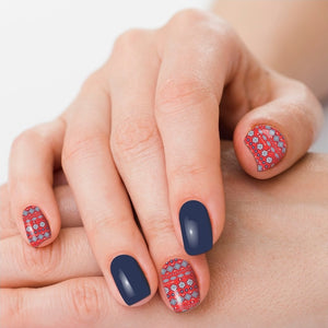 Stars & Stripes Nail Polish Strips - Sister Tribe Boutique