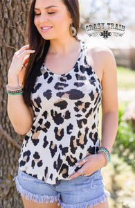 Louisiana Leopard Tank - Sister Tribe Boutique