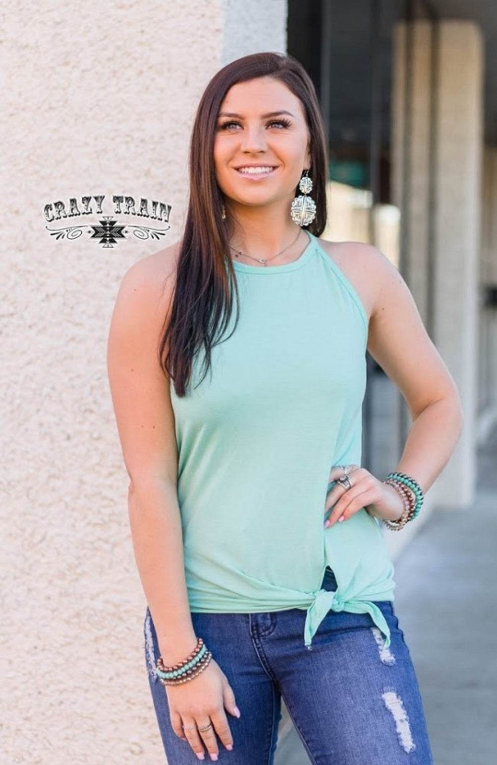 TANK about It * Mint - Sister Tribe Boutique