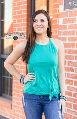 TANK about It * Teal - Sister Tribe Boutique