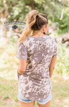 Load image into Gallery viewer, Wanky Western Cowhide Top - Sister Tribe Boutique