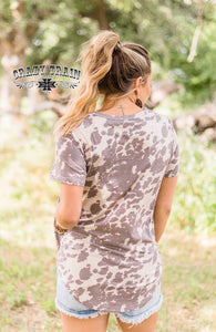 Wanky Western Cowhide Top - Sister Tribe Boutique