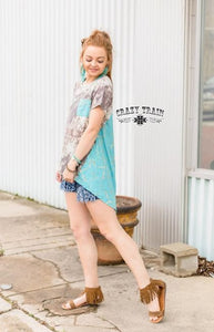 Cowtown Backdrop Top - Sister Tribe Boutique