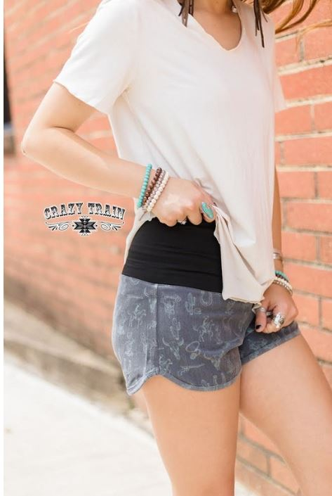 Cuero Board Shorts - Sister Tribe Boutique