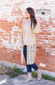 Yellow Rose of Texas Duster - Sister Tribe Boutique