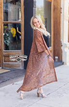 Load image into Gallery viewer, Lonestar Leather Tooled Duster - Sister Tribe Boutique