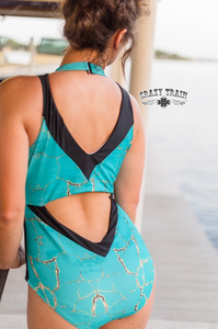 Fiji Zip Up Swimsuit - Sister Tribe Boutique